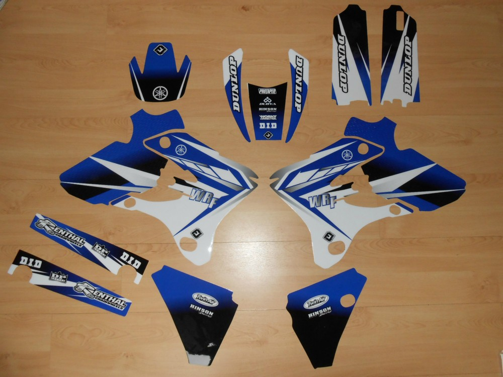 Honda Crf 80 >> Kit déco complet Yamaha WRF 250 / 450 ( 03 à 04 ) - rd2shop.fr