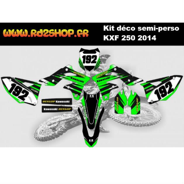 Kit D 233 Co Semi Perso Kawasaki Kxf 250 2013 17 Rd2shop Fr