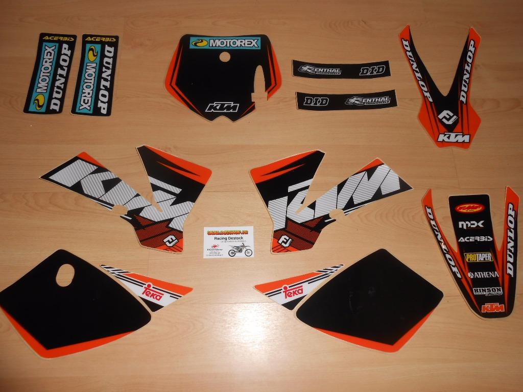 Kit déco complet KTM SX 50 ( 02 à 08 )