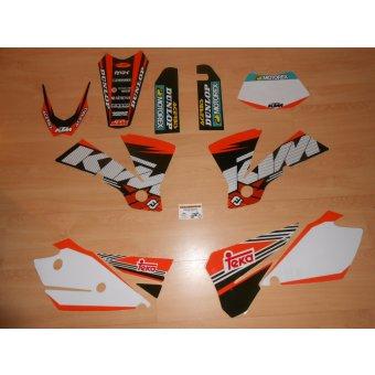Kit déco Complet KTM EXC ( 2004 )