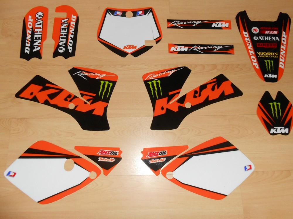 Kit déco complet KTM SX 65 ( 02 à 08 )