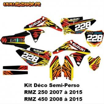 kit deco suzuki rmz 450 graphics 2007 car interior design