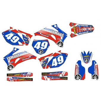 Kit déco Semi-perso YZF 250 / 450 ( 2006 2007 2008 2009 )