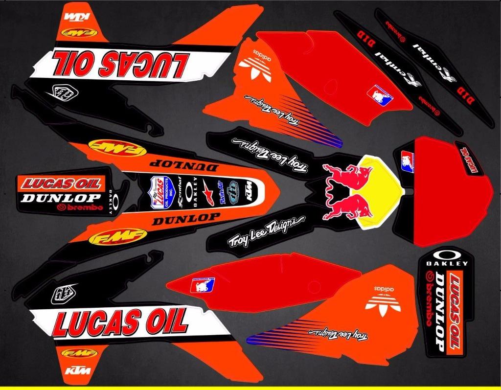 Ktm 450 Sx >> Kit déco Semi-perso KTM SX / SXF ( 2011 à 2019 ) - rd2shop.fr