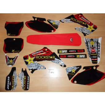 Kit deco housse de selle 125 cr honda