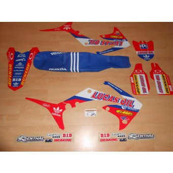 kit deco housse de selle crf lucas oil