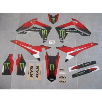 Kit Deco PERSO CRF 250 / 450 ( 2013 , 2014 , 2015 , 2016 )