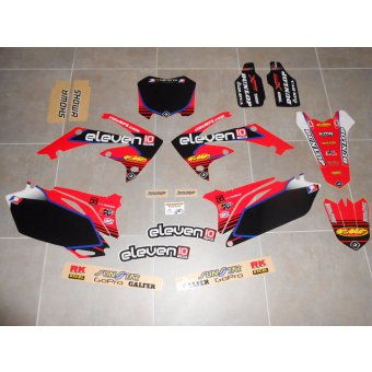 Kit Deco Complet Honda 250 / 450 CRF ( 2009 , 2010 , 2011 , 2012 , 2013 )
