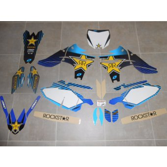 Kit Déco complet Yamaha YZF 450  ( 2010 , 2011 , 2012 , 2013 )