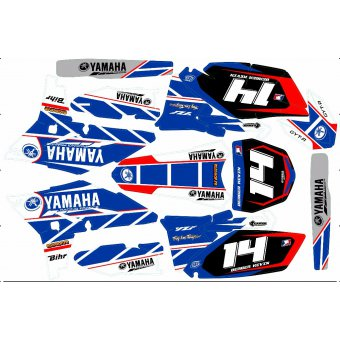Kit déco Semi-perso Yamaha YZF 250 / 450 2010 / 2011 / 2012 / 2013 / 2014 / 2015 / 2016