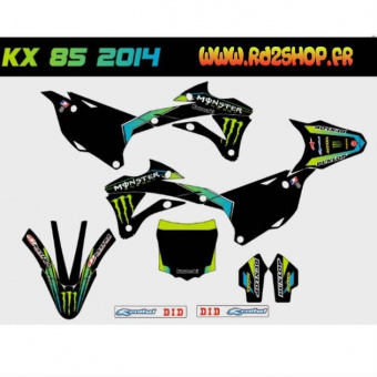 KIT DECO KX 85 2014 RD2SHOP