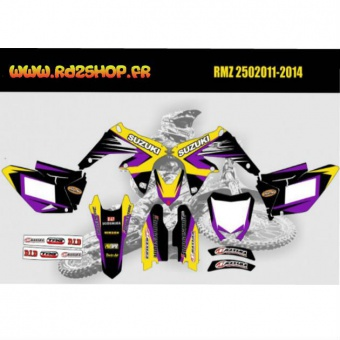 kit deco perso rmz250 2011 rd2shop