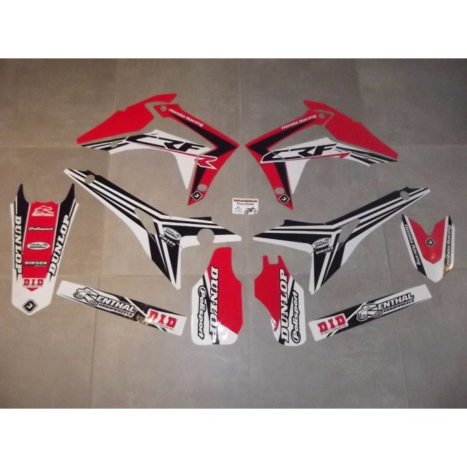Kit Déco PERSO CRF 250 / 450 ( 2013 / 2014 / 2015 / 2016 / 2017 )