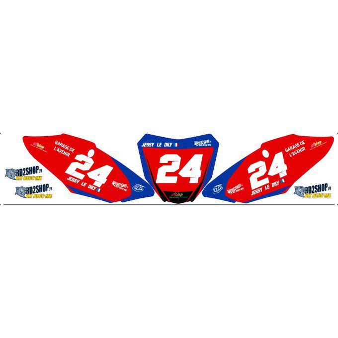 Fond de Plaque Perso LUCAS OIL CRF 250 / 450