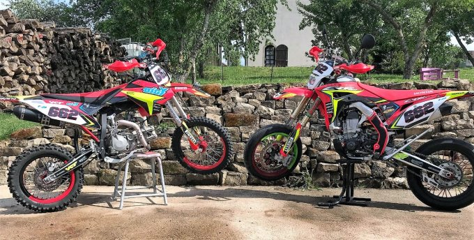 kit deco crf 100% perso rd2shop