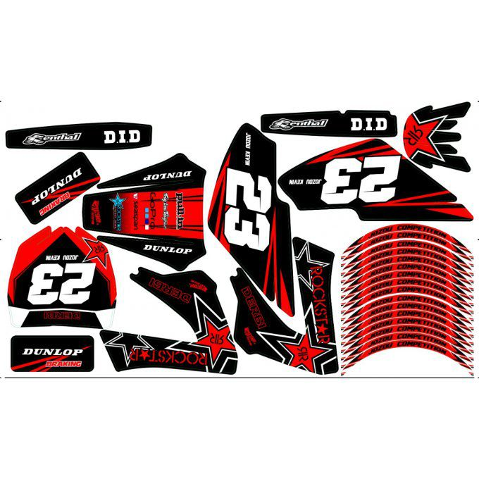 kit deco derbi top perf , voca