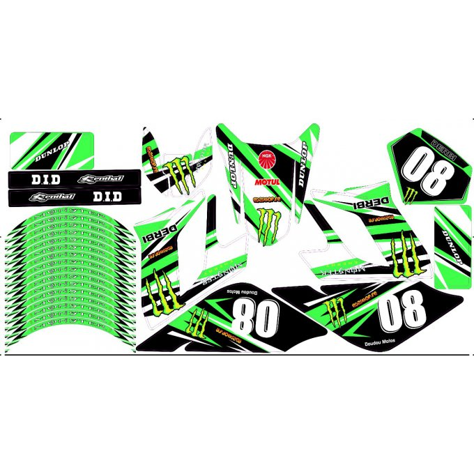 kit deco perso drd racing derbi