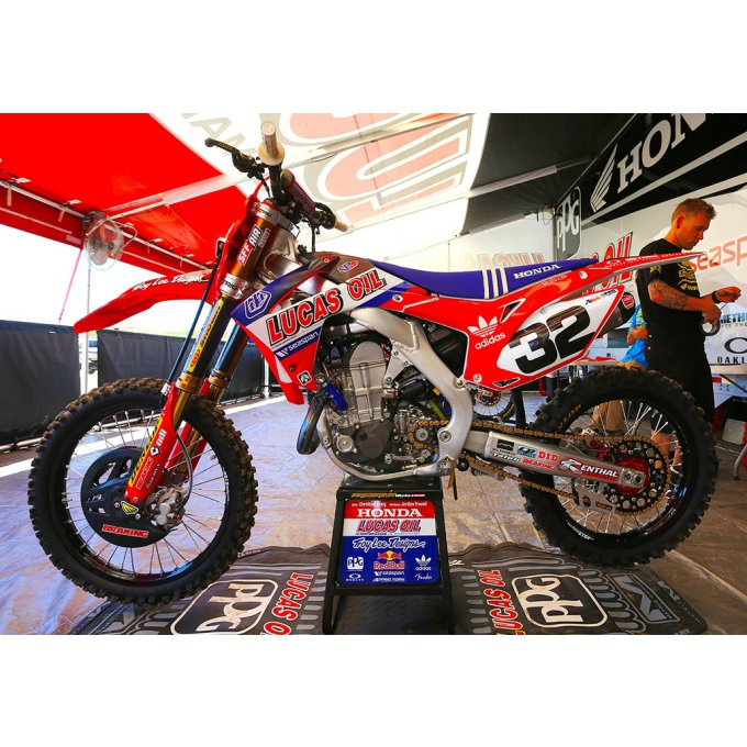 Kit Déco Honda LUCAS OIL 450 CRF ( 2005 / 2006 / 2007 /  2008 )