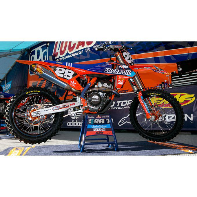Kit déco  KTM  lucas oil troy lee designs