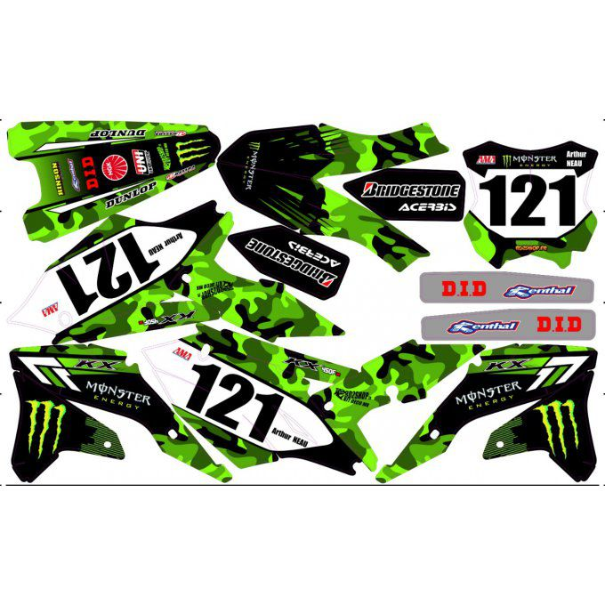 kit deco monster kxf 450 2017 - 2018 - 2019