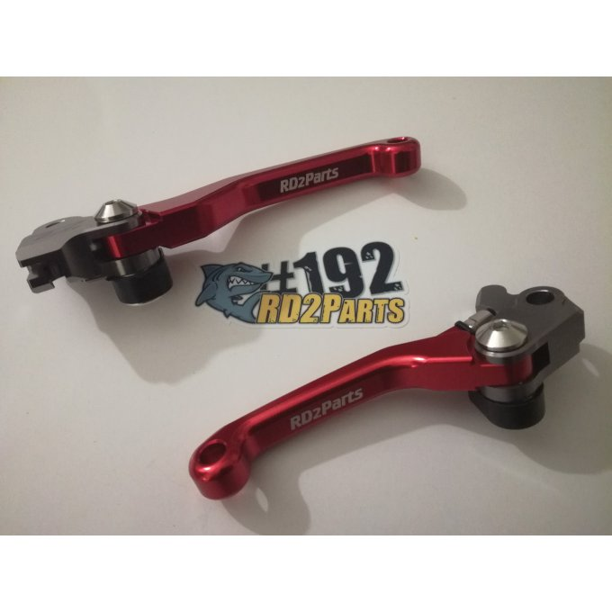 Paire Leviers  HONDA CR / CRF 85 / 125 / 150 / 250