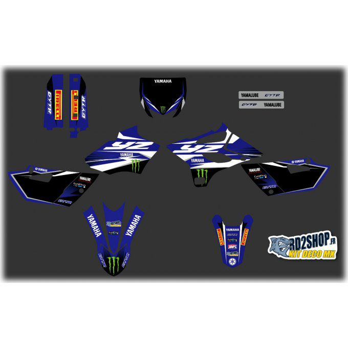 Kit Déco  YAMAHA YZ 85  MONSTER( 2015 à 2020 )
