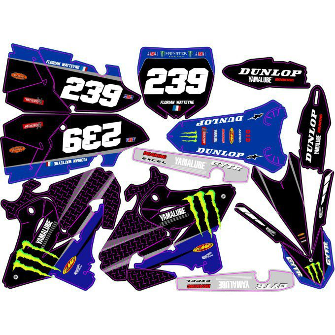 Kit déco Semi-perso YZ 125 / 250 monster