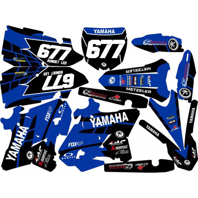 Kit deco Semi-perso YZ 125 / 250 ( 2002 à 2020 )