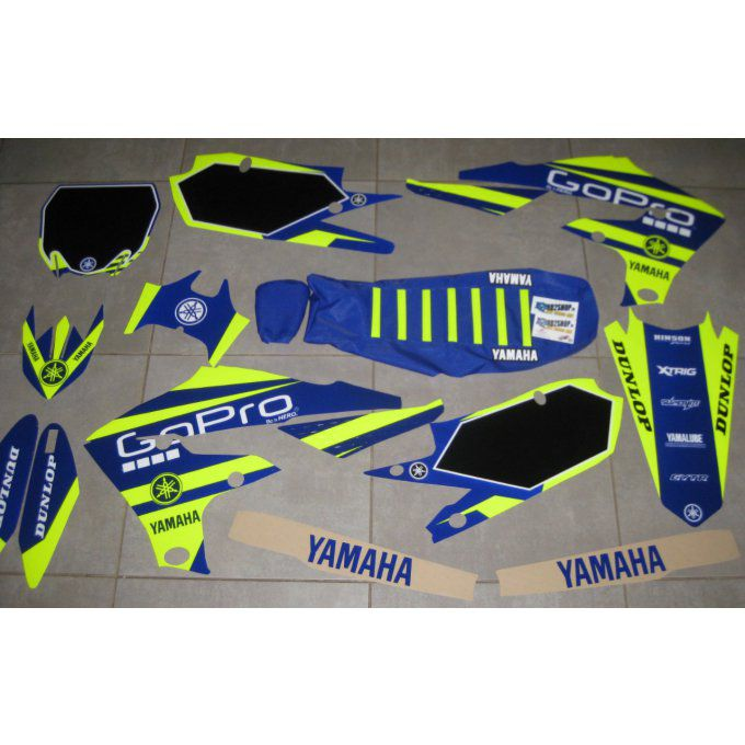 kit deco gopro fluo yzf
