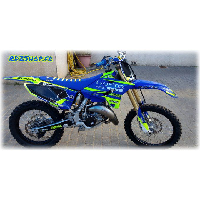 kit dec ojaune fluo gopro yz