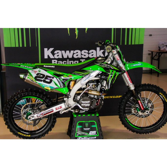 Kit Déco Monster Kawasaki KXF 450 ( 2016 à 2018 )